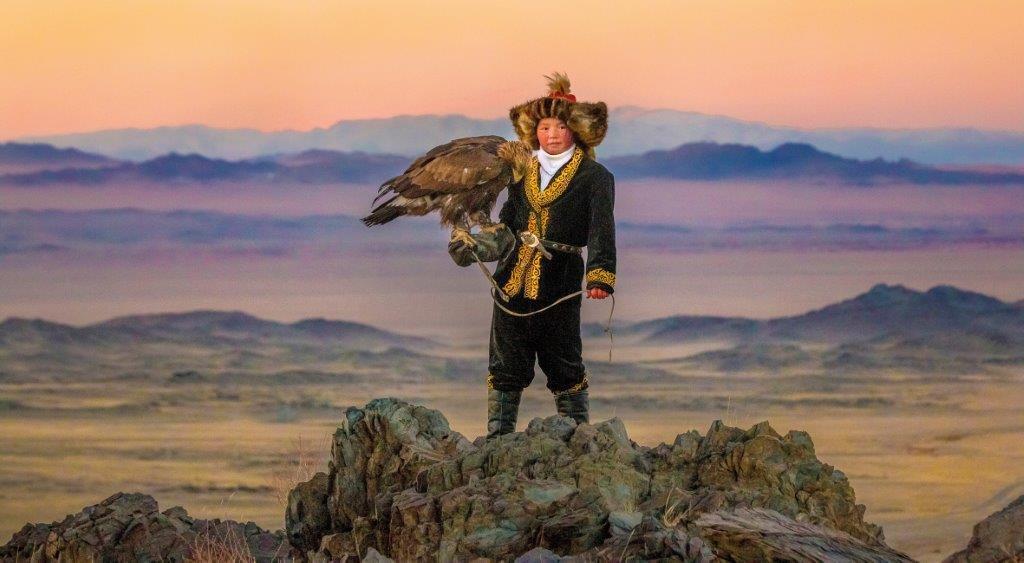 Ashol Pan, 13-eves mongol sasvadasz